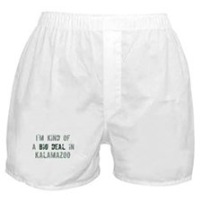 Big deal in Kalamazoo Boxer Shorts