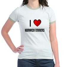 I LOVE NORWICH TERRIERS T