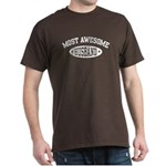 Most Awesome Husband Dark T-Shirt