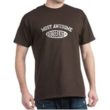 Most Awesome Husband T-Shirt