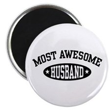 Most Awesome Husband Magnet