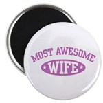 Most Awesome Wife Magnet