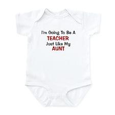 Teacher - Aunt - Profession Infant Bodysuit