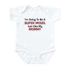 Super Model Mommy Profession Infant Bodysuit
