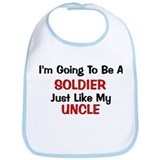 Soldier Uncle Profession Bib