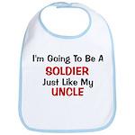 Soldier Uncle Profession Bib