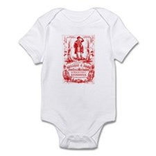 Funny Retro bagpipes Infant Bodysuit