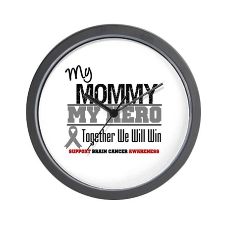 BrainCancerHero Mommy Wall Clock