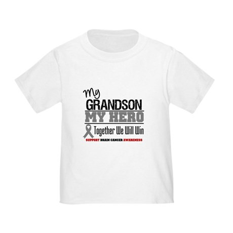 BrainCancerHero Grandson Toddler T-Shirt