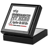 BrainCancerHero Granddaughter Keepsake Box