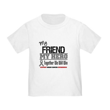 BrainCancerHero Friend Toddler T-Shirt