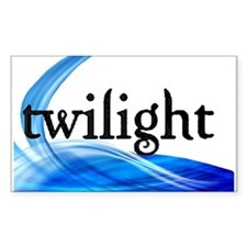 Twilight Rectangle Sticker 10 pk)