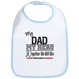 BrainCancerHero Dad Bib