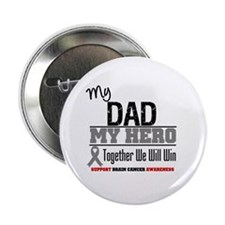 "BrainCancerHero Dad 2.25"" Button (100 pack)"