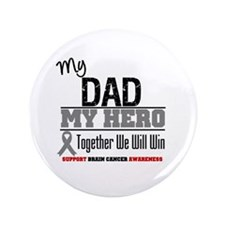 "BrainCancerHero Dad 3.5"" Button"