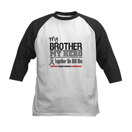 BrainCancerHero Brother Kids Baseball Jersey