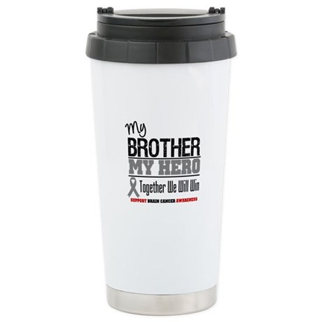 BrainCancerHero Brother Ceramic Travel Mug