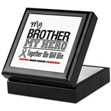 BrainCancerHero Brother Keepsake Box