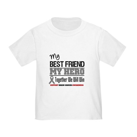 BrainCancerHero BestFriend Toddler T-Shirt