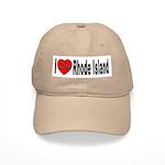I Love Rhode Island Cap