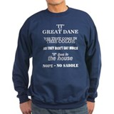 Great Dane Walking Answers Sweatshirt