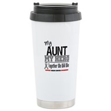 BrainCancerHero Aunt Ceramic Travel Mug