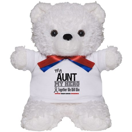 BrainCancerHero Aunt Teddy Bear
