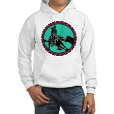 The Dance- Cutting Horse & Cowgirl Hoodie