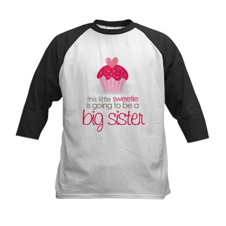 sweetie big sister shirt Kids Baseball Jersey