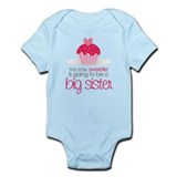 sweetie big sister shirt Infant Bodysuit