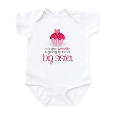 sweetie big sister shirt Onesie