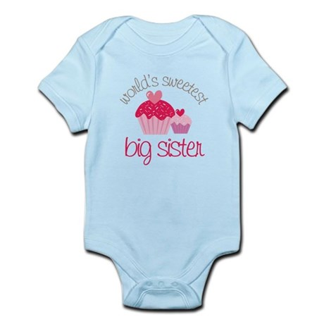 world's sweetest big sister Infant Bodysuit