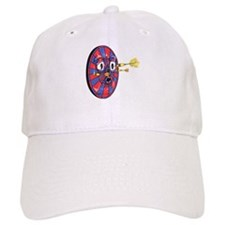 Dartie the dart board Baseball Cap