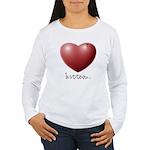 Bitten... Women's Long Sleeve T-Shirt