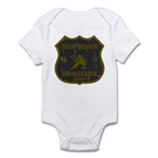 Social Worker Ninja League Infant Bodysuit