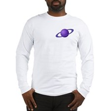 Purple Planet Long Sleeve T-Shirt