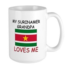 My Surinamer Grandpa Loves Me Mug