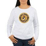 Bell County Sheriff K9 Women's Long Sleeve T-Shirt