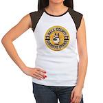Bell County Sheriff K9 Women's Cap Sleeve T-Shirt