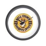Bell County Sheriff K9 Wall Clock
