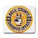 Bell County Sheriff K9 Mousepad