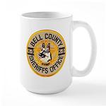 Bell County Sheriff K9 Large Mug