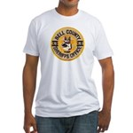 Bell County Sheriff K9 Fitted T-Shirt