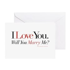 Marry Me! Greeting Card