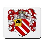 Van Tiel Coat of Arms Mousepad