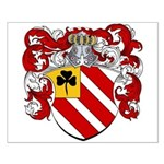 Van Tiel Coat of Arms Small Poster