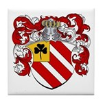 Van Tiel Coat of Arms Tile Coaster
