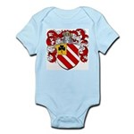 Van Tiel Coat of Arms Infant Creeper