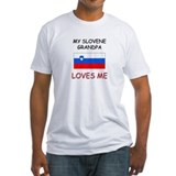 My Slovene Grandpa Loves Me Shirt