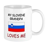 My Slovene Grandpa Loves Me Mug